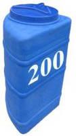 Емкость вертикальная угловая 200 литров