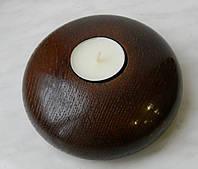 Подсвечник для чайной свечи, ручная робота, натуральное дерево