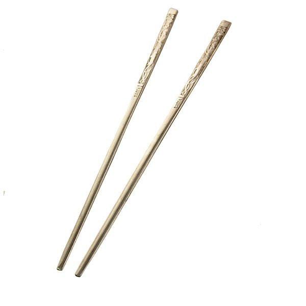 Металеві палички для їжі «Женьшень»