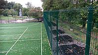 Заборные сетки для автостоянок.Сварная сетка оцинкованная с полимерным покрытием  Рубеж 4*4 2,5м*2,4м