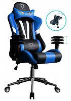Игровое кресло DIABLO X-EYE  черно - синее, фото 1