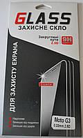 Защитное стекло для Motorola Moto G3, F1076