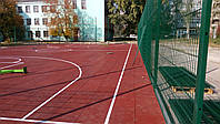 Панельный забор из сварной сетки Рубеж 3,0м*1,3м. Ограждение 3D