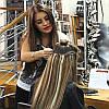 Волосы на заколках Накладные волосы ТЕРМОСТОЙКИЕ волосы блондин русый шатен, фото 3