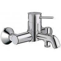 Смеситель для ванны BauClassic, 32865000, Grohe (Германия)