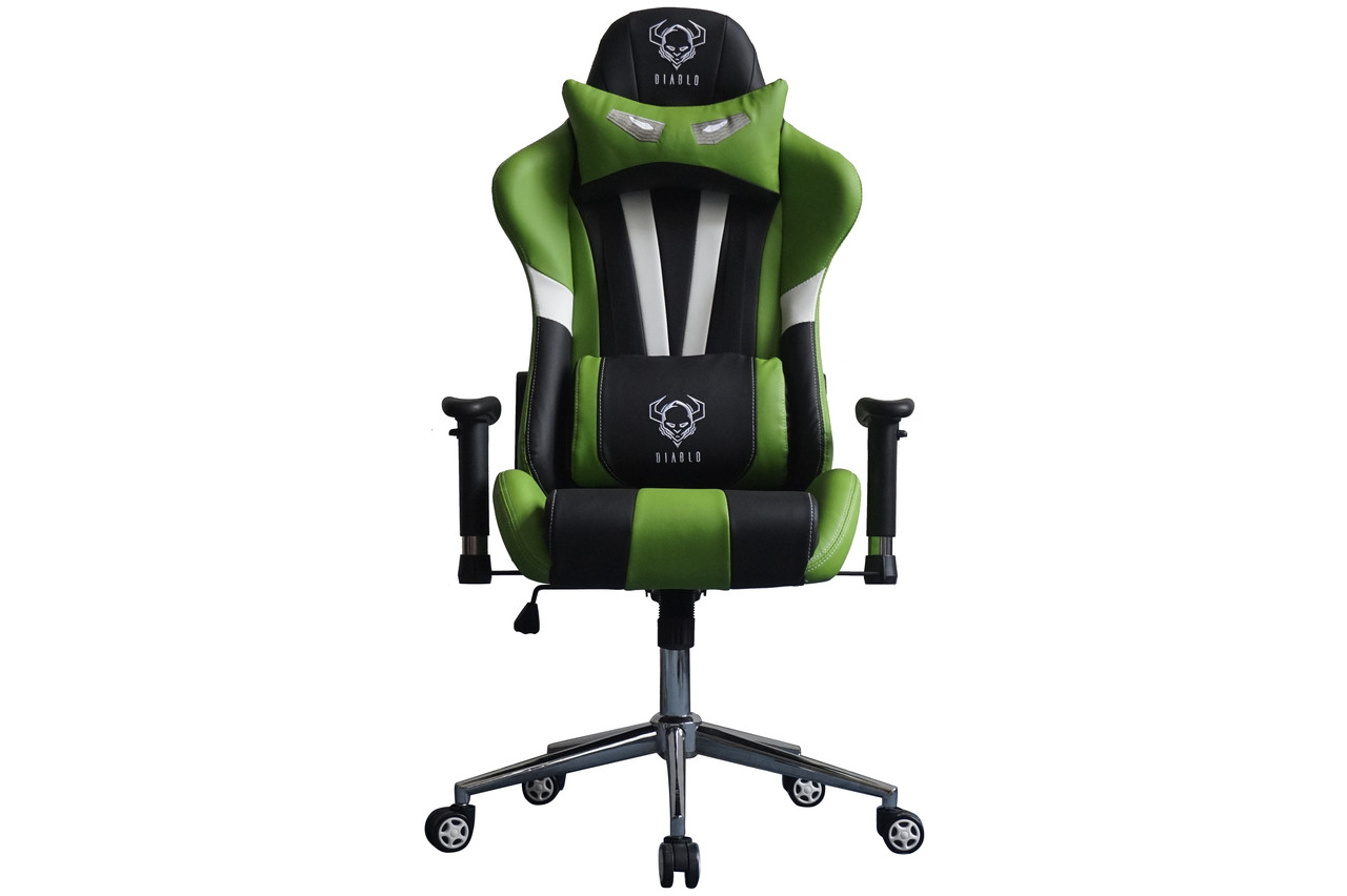 Геймерское кресло DIABLO X-EYE Green