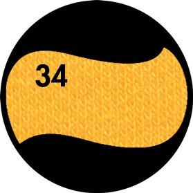 Цвет однотонный - Солнечно-жёлтый