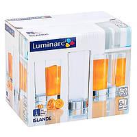 Набор высоких стаканов Luminarc Islande 330мл*6 шт (J0040)