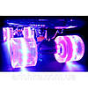 Скейт Пенни борд (Penny board) 694б свет колёса. 55см., фото 3