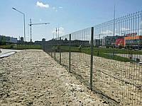 Панельный забор из сварной сетки Рубеж 3,0м*1,5м. Сварной забор