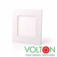 Потолочный светильник LED 6W S 4200K встраиваемый, фото 1