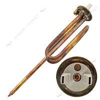 ТЭН 1,5 кВт для бойлера круглый фл. d48, изогнутый, под анод на кор. ножке М6