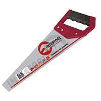Intertool HT-3101 Ножовка по дереву с калёным зубом 400мм 55 HRC
