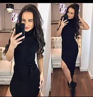 Женское стильное облегающее длиное платье