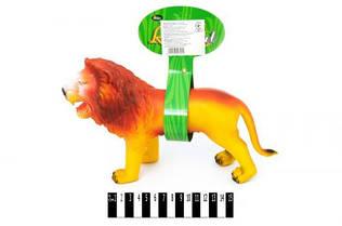 Лев резиновый