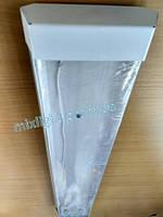 Светильник аналог ЛПО под LED лампы 60см прозрачное стекло