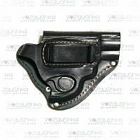 Поясная кобура для револьвера со скобой для скрытого ношения, кожа, фото 1