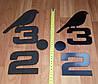 3D-Часы настенные большие с птичкой (диаметр 1 м) черные [Пластик], фото 3