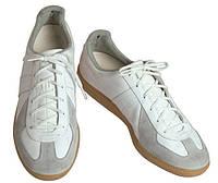 Кожаные тренировочные кроссовки Bundeswehr (белые). ВС Германии, оригинал., фото 1