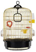 Ferplast REGINA Золото Клетка круглая для маленьких экзотических птиц