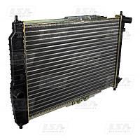 Радиатор охлаждения AVEO с кондиционером(96536525) (пр-во LSA)