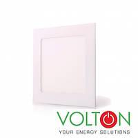 Потолочный светильник LED 12W S 4200K встраиваемый, фото 1