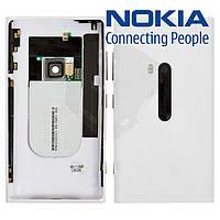 Задняя крышка батареи для Nokia Lumia 920, c боковыми кнопками, белый, оригинал