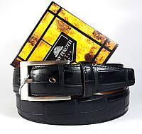 Кожаный ремень Tony Perotti 60 крупным тиснением