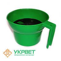 Кружка для предварительного доения, зеленая