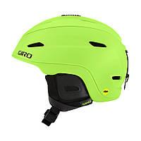 Горнолыжный шлем Giro Zone Mips, матовый лайм чёрный (GT)