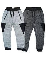 Утепленные спортивные штаны для мальчиков, размеры 98.116.128, арт. BRT-2672