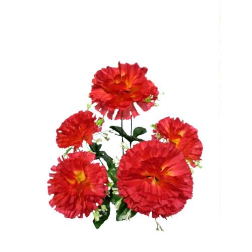 """Букет искусственных цветов """"Гвоздика"""" (40 шт)"""