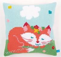 """Набор для вышивания крестом   Vervaco """"Sleeping fox (Спящая лисичка)"""""""