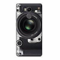 Силиконовый бампер для Xiaomi Redmi 4 pro / Redmi 4 prime с рисунком объектив фотоаппарата
