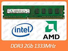 DDR3 2GB 1333 MHz (PC3-10600) різні виробники