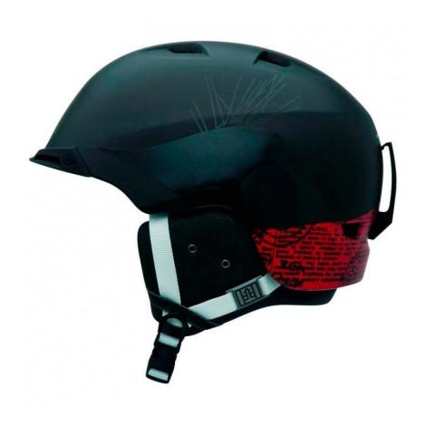 Горнолыжный шлем Giro Capter 2, чёрный орнамент (GT)