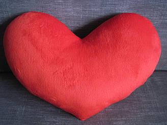 Декоративная подушка сердце ручная работа