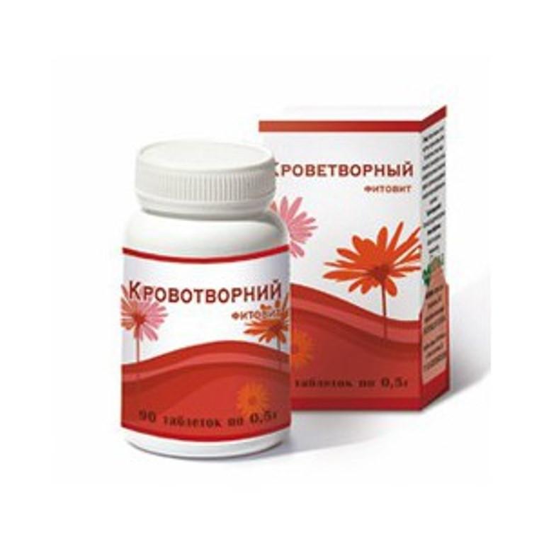 При анемии, для повышения гемоглобина Фитовит Кроветворный - Салюс-экологически чистые продукты, натуральная косметика  в Одессе