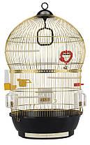 Ferplast BALI Золото Клетка круглая для маленьких экзотических птиц