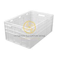 Ящики пластиковые для мяса 600x400x260