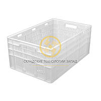 Ящики пластиковые для мяса 600x400x260, фото 1