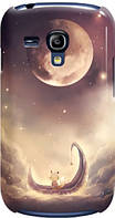 Чехол для Samsung Galaxy S III mini I8190 (Луна)
