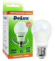 Светодиодная лампа DELUX BL 60 10Вт 4100K 220В E27