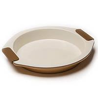 Форма керамическая круглая для выпечки Maestro 28,5х26,5х4 см
