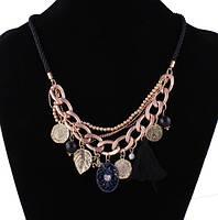 Ожерелье Кисточка/бижутерия/цвет разные