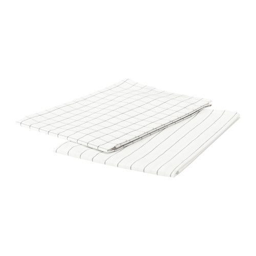 "IKEA ""ИКЕА/365+"" Полотенце кухонное, белый, 2 шт., 50x70 см"