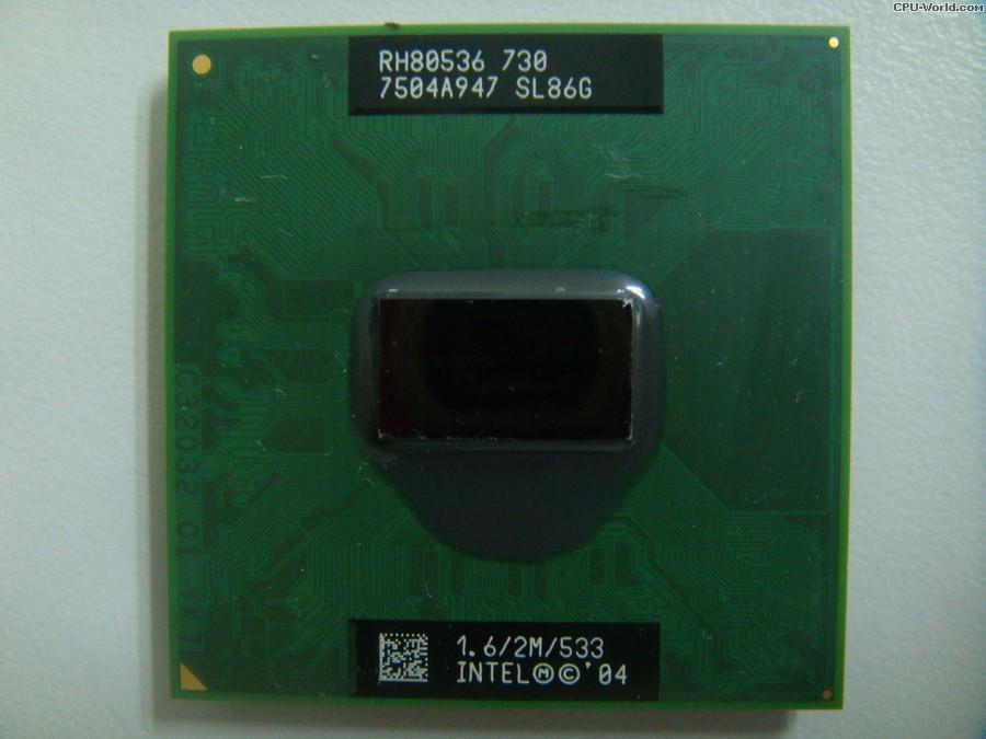 Процесор для ноутбука Intel® Pentium® M 730 (SL86G) бо