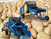 Копатель для раннего картофеля Mini Pyrys М-664 смешанный привод Krukowiak (Польша)
