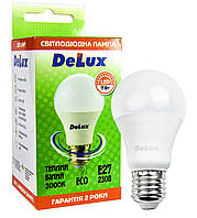 Светодиодная лампа DELUX BL 60 7Вт 3000K 220В E27