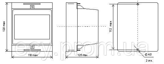 Е849/11-Ц Преобразователи измерительные активной и реактивной мощности трехфазного тока, фото 2